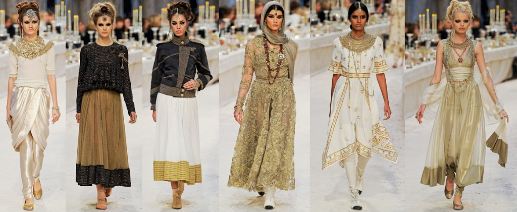 Five International Fashion Shows Inspired By India Fashion Chanzer